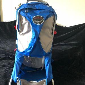 Osprey Packs Poco Ag Premium Child Carrier Blue